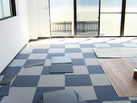 与野上木崎校の内装工事が始まりました!画像
