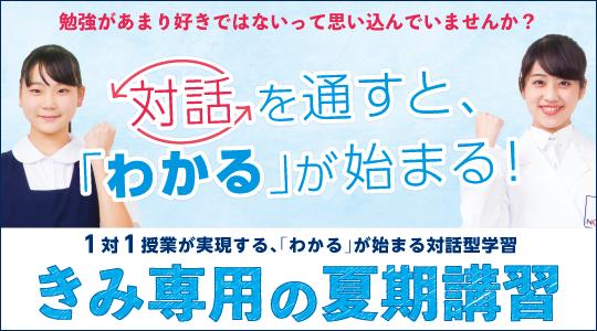 個別指導塾ノーバス西武柳沢校 夏期講習